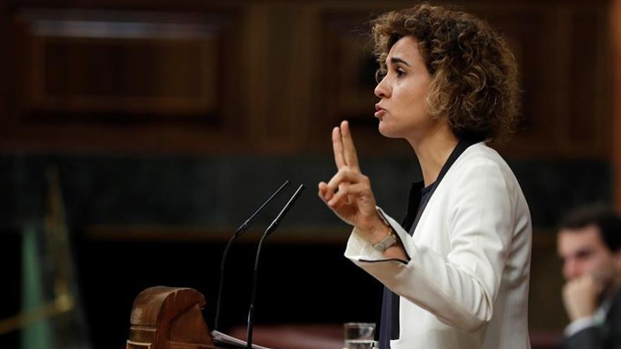 La hasta ahora ministra de Sanidad, Dolors Montserrat.