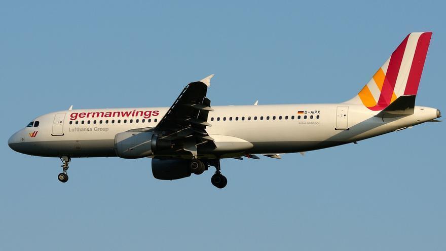 Aparato de Lufthansa - Germanwings siniestrado en los Alpes.
