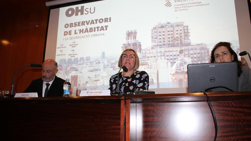 La consellera Salvador ha presentado el Observatori del Hábitat