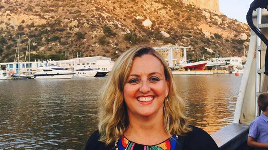 La concejal del PP en el Ayuntamiento de Calp, Ana Sala, en la foto de su perfil de Facebook