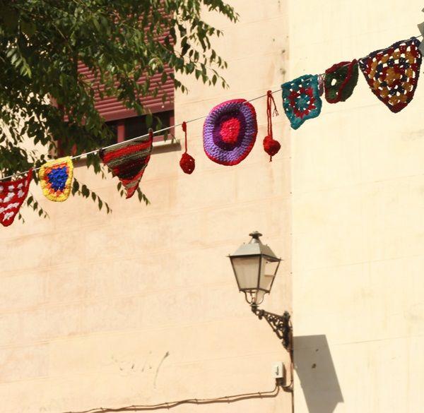 La particular decoración de Tejiendo Malasaña