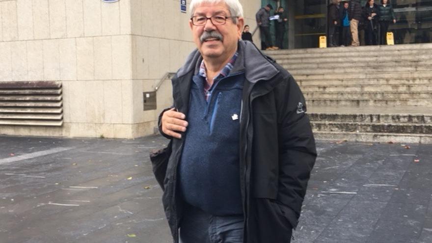 Jesús Uzkudun, la referencia en Euskadi en la lucha contra el amianto