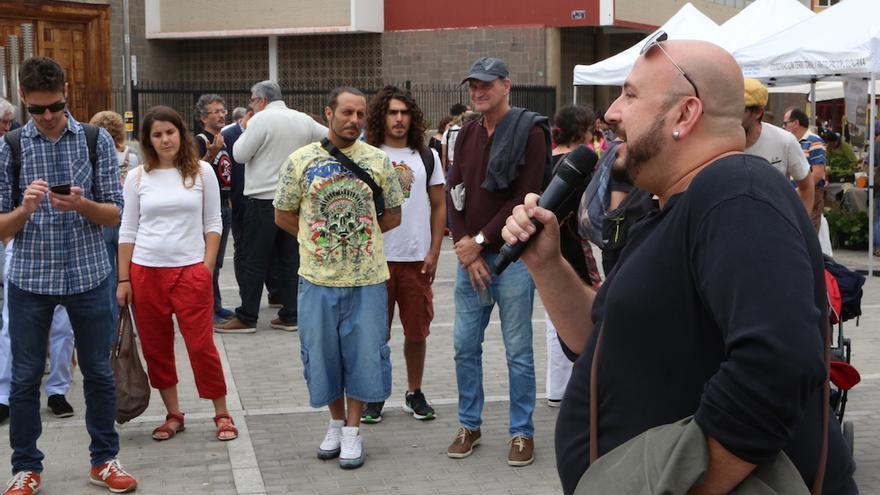 Arte y participación en la Plaza del Pilar. (Alejandro Ramos).