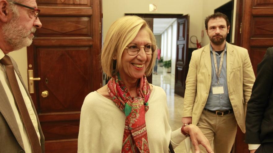 """Rosa Díez carga contra el nombramiento del """"tránsfuga"""" Ignacio Prendes como vicepresidente del Congreso"""