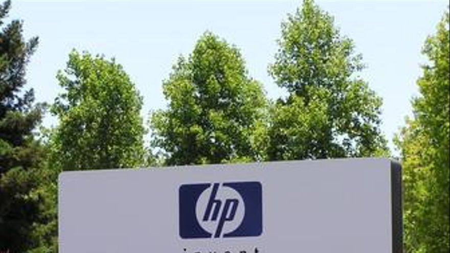 Hewlett Packard HP logo sede eeuu