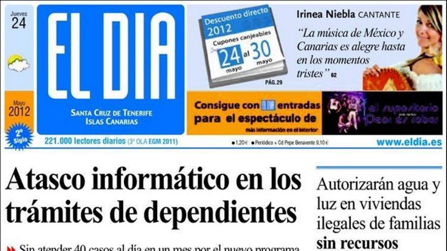 De las portadas del día (24/05/2012) #4