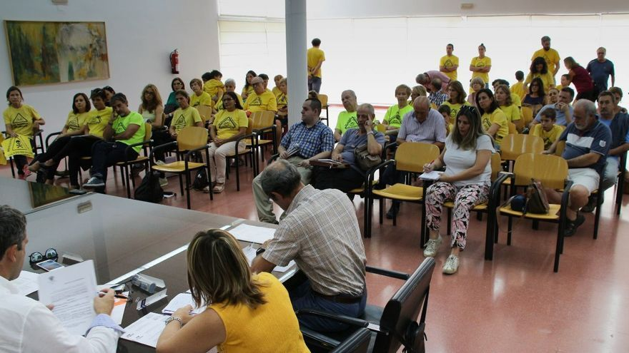 Consejo de Participación en el Polígono de Toledo, miembros de la plataforma Mi Barrio Sin Amianto