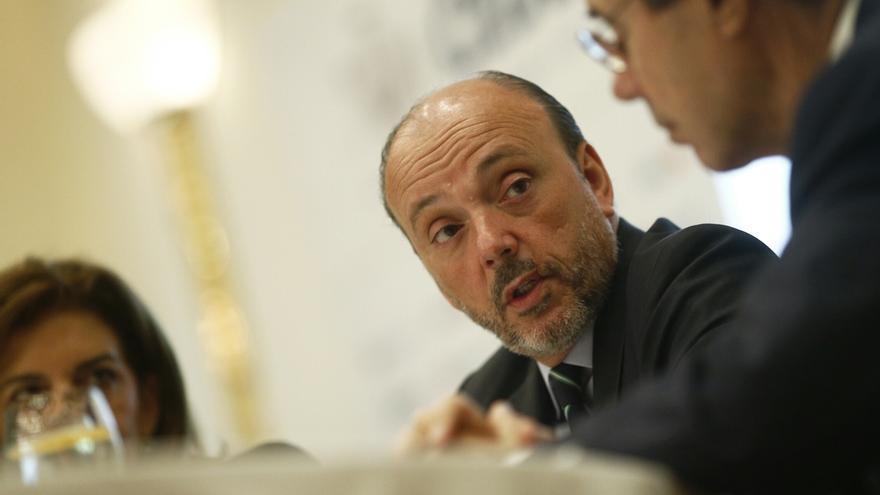 El expresidente de Indra, Javier Monzón.