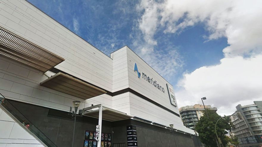Imagen del centro comercial Meridiano, en Santa Cruz de Tenerife