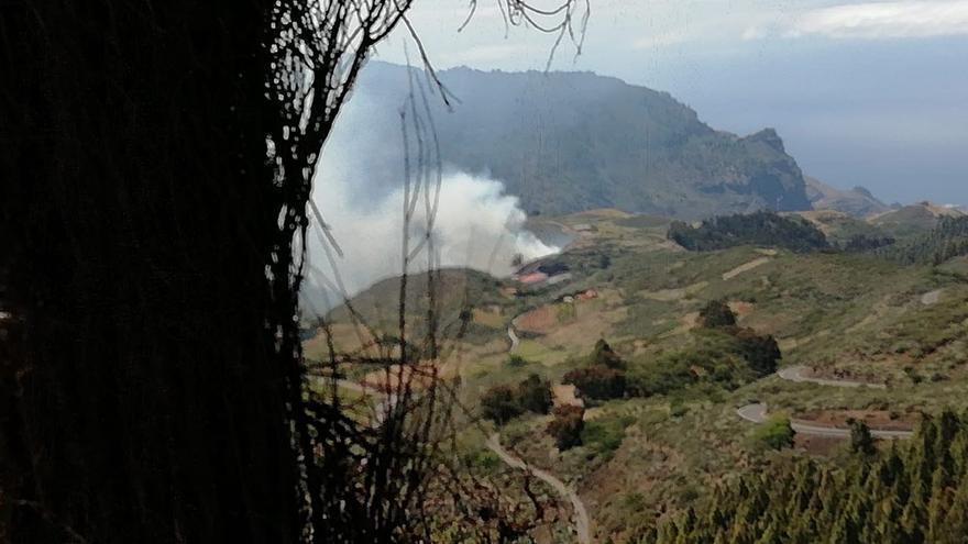 Incendio en Juncalillo, Gran Canaria