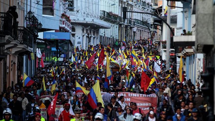 Indígenas de Ecuador culpan al Gobierno de incidentes y piden mediación