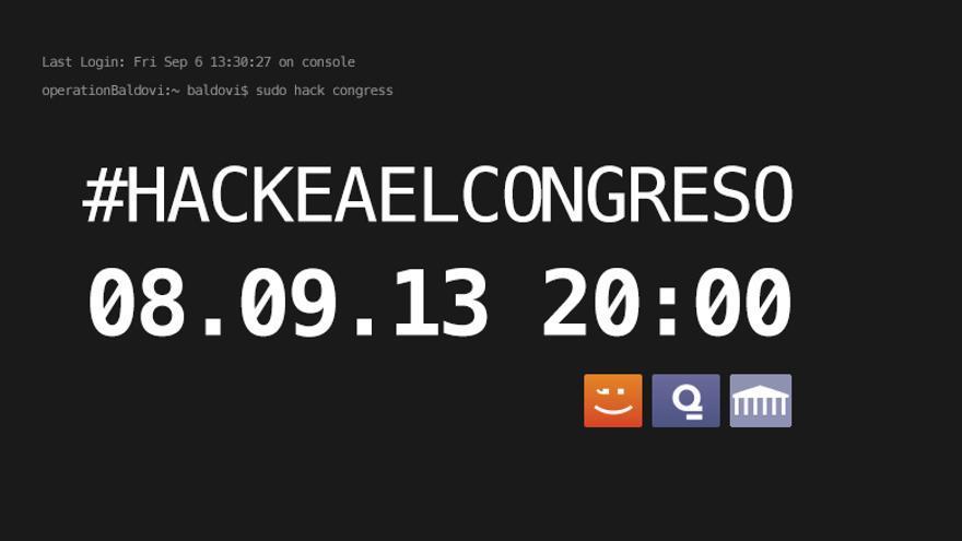 Pantallazo de la web congresotransparente.com