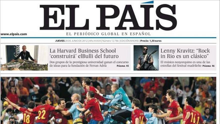 De las portadas del día (28/06/2012) #7