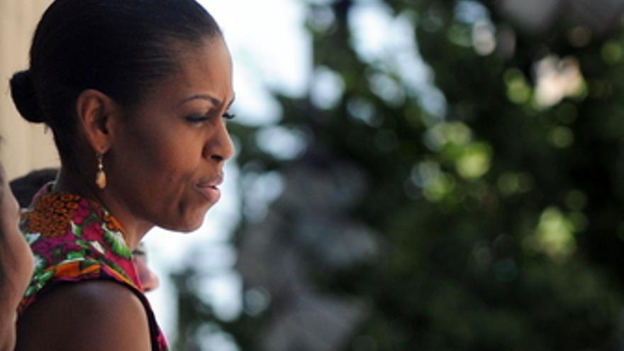 La primera dama estadounidense Michelle Obama visita Granada