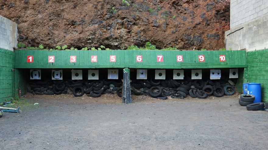 Campo de tiro Las Majadillas, del C.D Camino de Leñadores