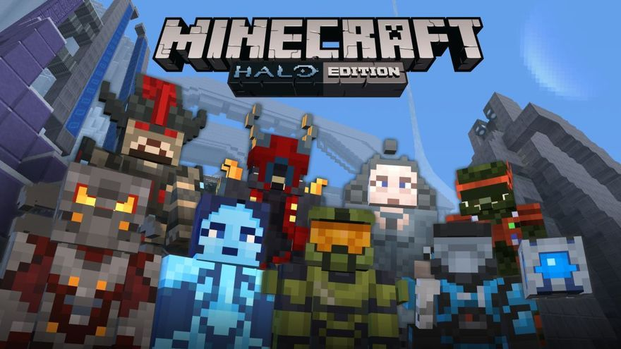 Minecraft Halo Edition