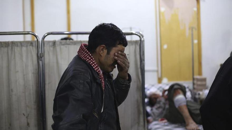 Bebés en incubadoras heridos en el bombardeo a un hospital del norte de Siria