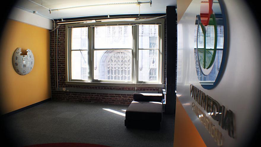 La sede de la Fundación Wikimedia está en la ciudad de San Francisco (California)