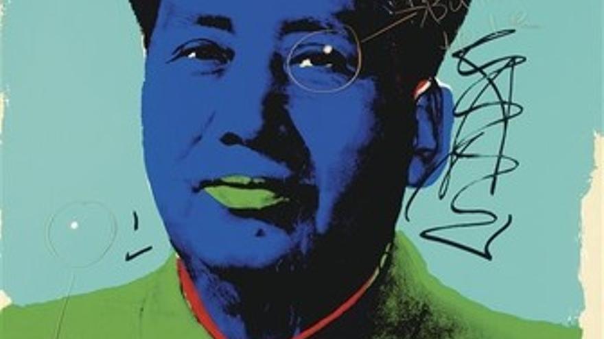Retrato de Mao Zedong realizado por Andy Warhol
