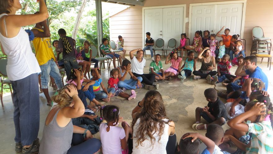 Camp de Solidaritat de Setem a Padre de las Casas (República Dominana)