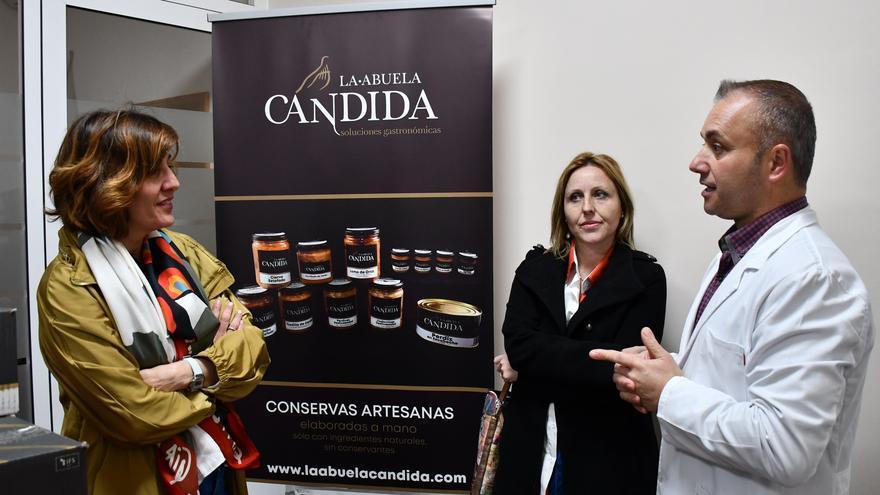 Blanca Fernández (PSOE) en Santa Cruz de Mudela (Ciudad Real)