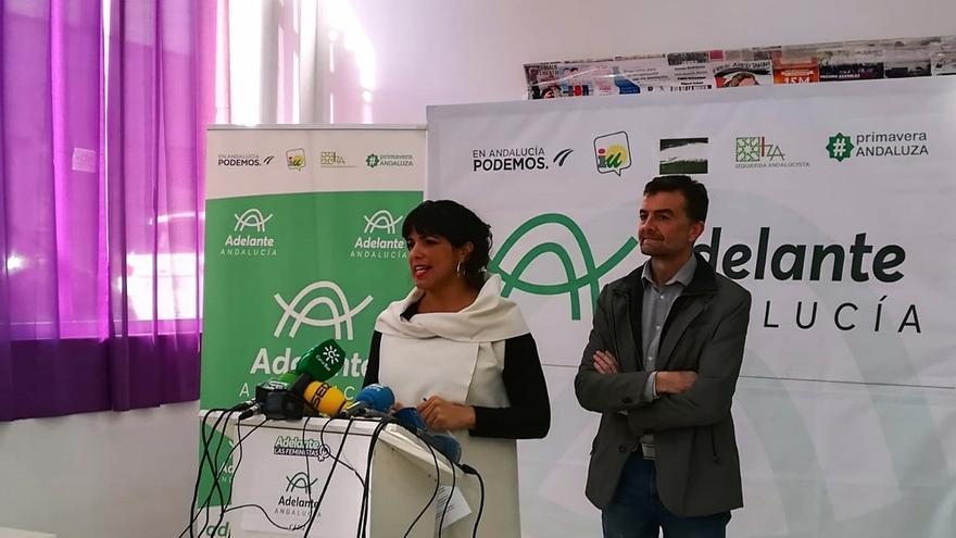 """Adelante Andalucía pide al PSOE-A """"estar a la altura"""" para """"salvar a Andalucía de la extrema derecha"""""""