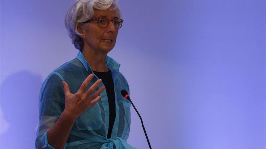 La directora general del Fondo Monetario Internacional, Christine Lagarde. FMI