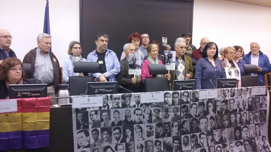 Víctimas del franquismo unen fuerzas para exigir que los partidos recojan sus demandas en sus programas electorales