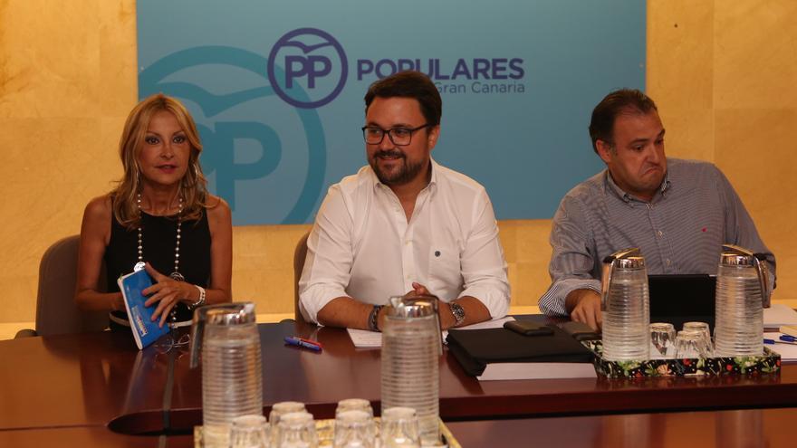 Reunión del Comité de Dirección Regional del Partido Popular de Canarias