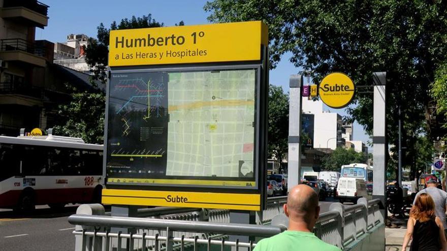 Metro argentino hace un paro por supuesto amianto en vagones comprados a Madrid