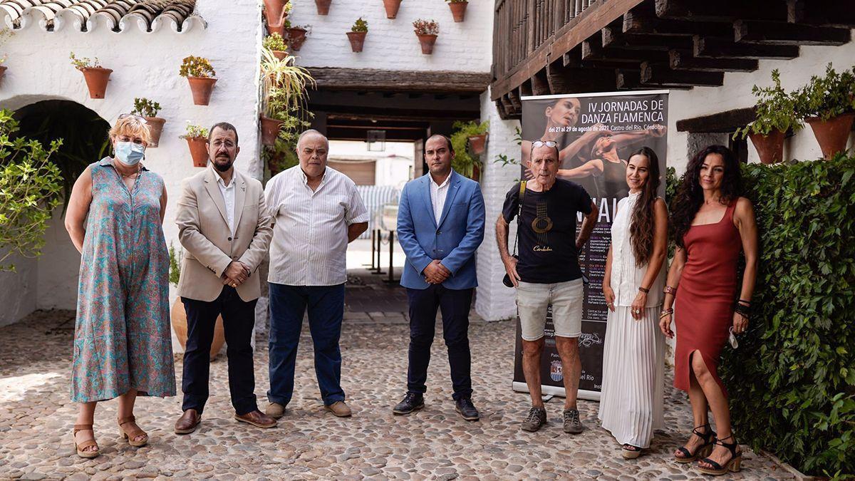 Presentación de las jornadas de flamenco de Castro del Río.