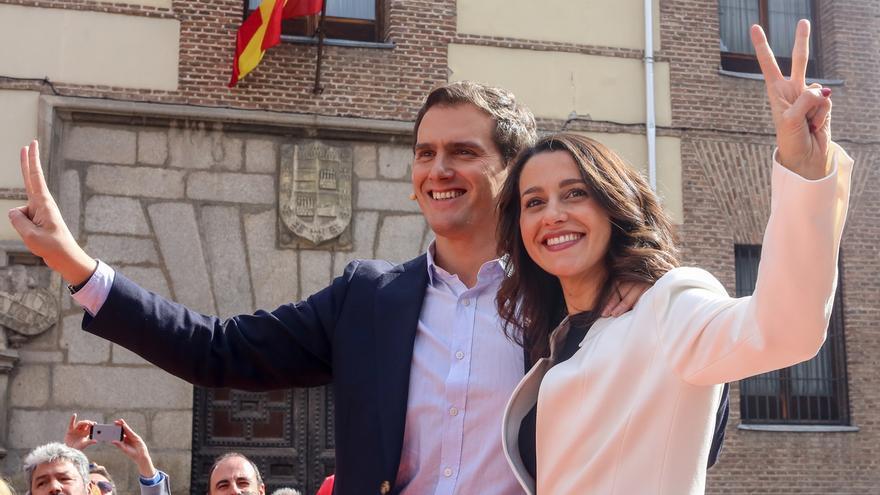 Albert Rivera e Inés Arrimadas, protagonistas del acto feminista de Ciudadanos