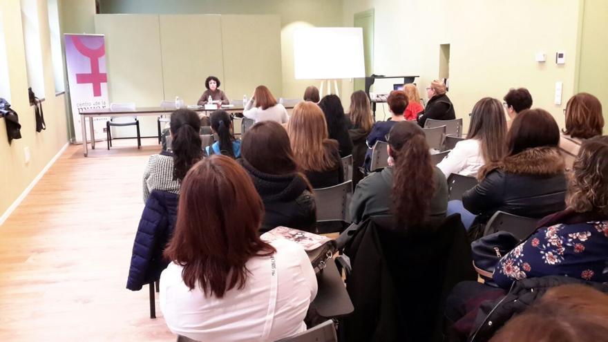 Pilar Virtudes en la jornada Empoderamiento de la mujer en la gastronomía
