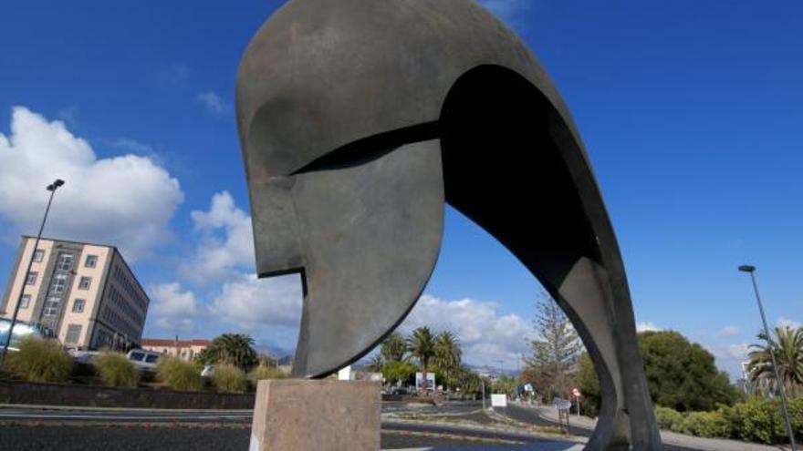 Monumento de 'El Pensador', en la ULPGC