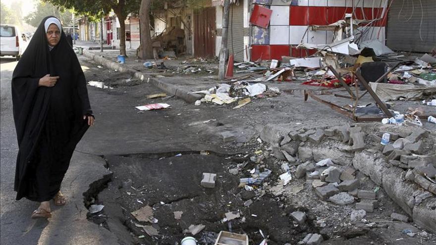 Mueren 12 personas y 81 resultan heridas en varios atentados en Bagdad