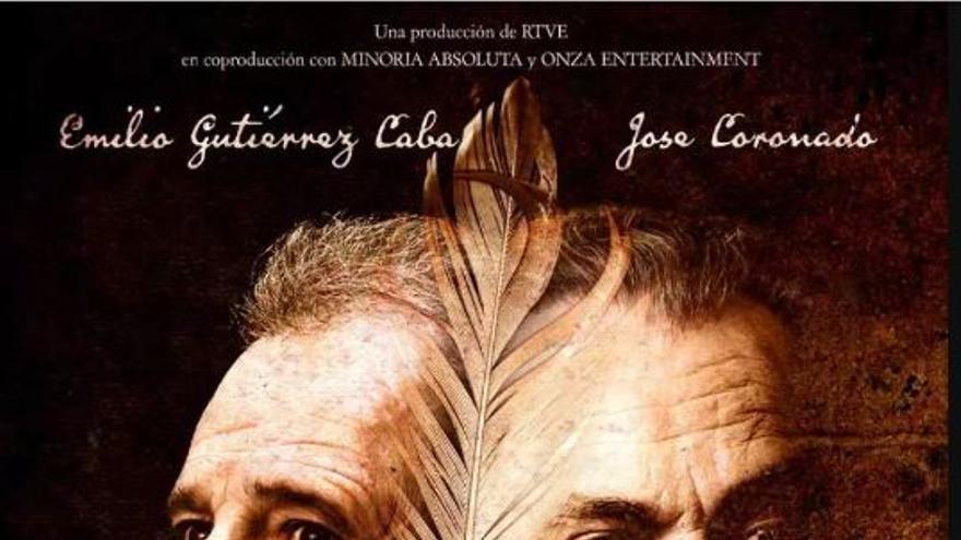 Cartel de 'Cervantes contra Lope' (Manuel Huerga, 2016)