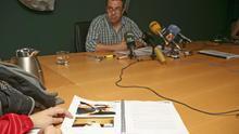 Ezequiel Navío durante la presentación de la memoria del Grupo de Rescate de Fauna y Apoyo al Voluntariado (ALEJANDRO RAMOS)