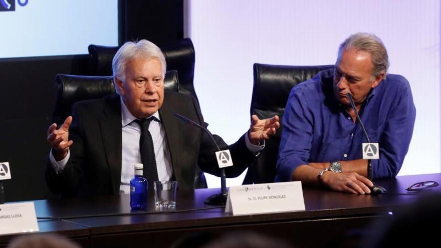 Felipe González: Es difícil ser optimista sobre la formación de Gobierno
