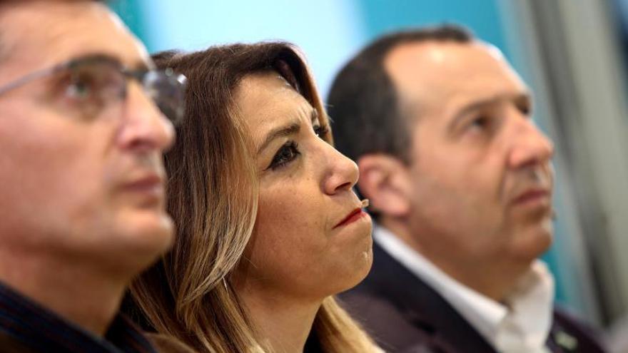 """Susana Díaz afirma que a Vox """"le ha bastado un mes para quitarse la careta"""""""