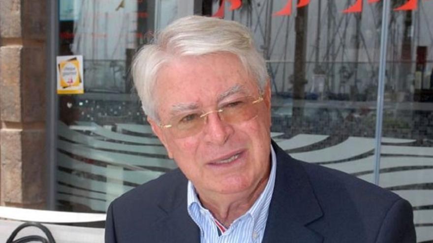 El presidente del Real Club Náutico de Gran Canaria, Fernando del Castillo.