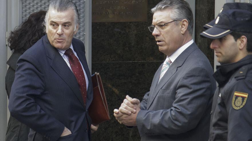 """Bárcenas ha acudido """"muy tranquilo"""" y """"con muchas ganas de declarar"""" a la Audiencia Nacional"""
