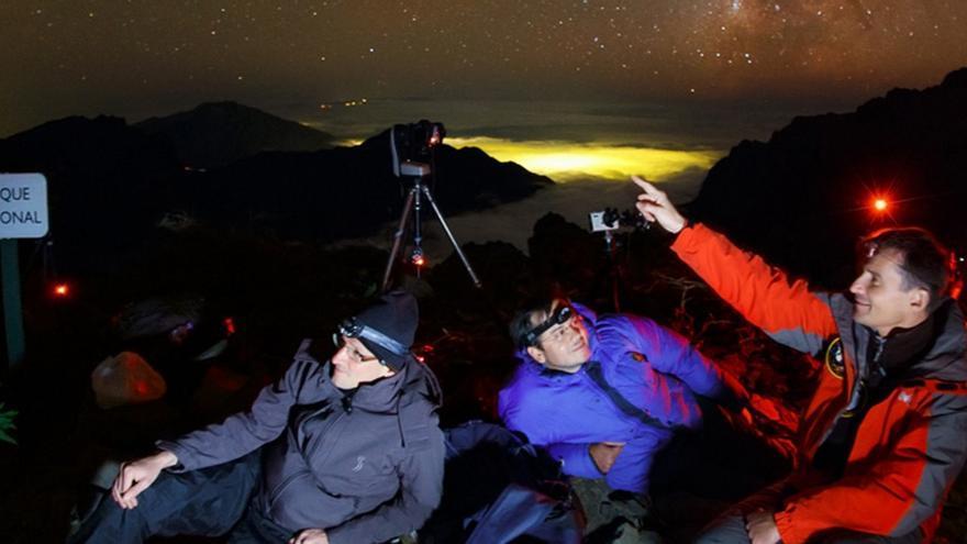 El recorrido por el norte de la Isla incluye una visita al Observatorio del Roque de Los Muchachos y distintas paradas para disfrutar de los paisajes de la Isla y fotografiarlos. Foto: Astrofest.