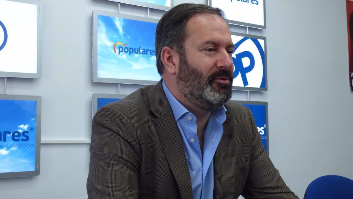 El presidente del PP de Córdoba y candidato a la reelección, Adolfo Molina