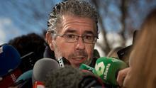Francisco Granados, a la salida de su declaración.