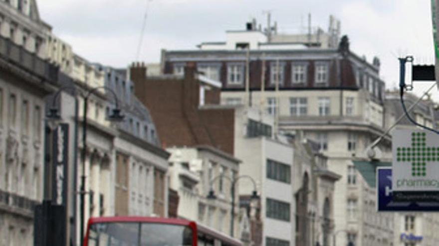 Una calle de Londres, Reino Unido