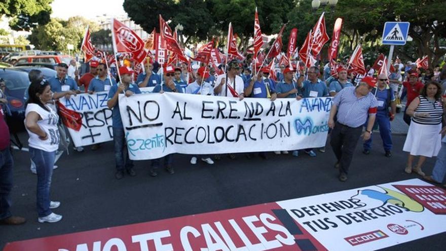 De la manifestación contra los recortes #7