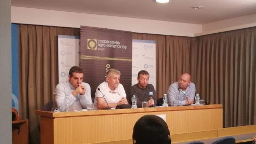 Rueda de prensa de las organizaciones agrarias aragonesas
