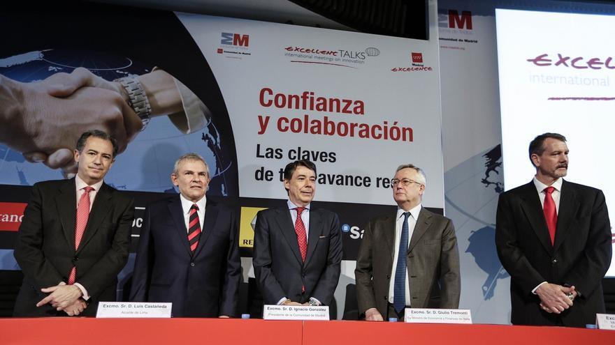 """Ignacio González reivindica su gestión económica, """"que ha generado un marco de confianza y credibilidad"""""""