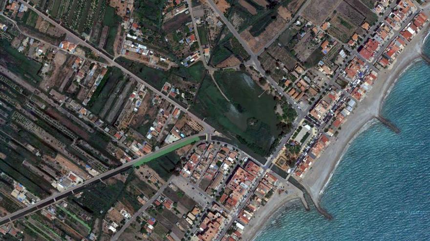 Vista aérea de Nules, Castellón