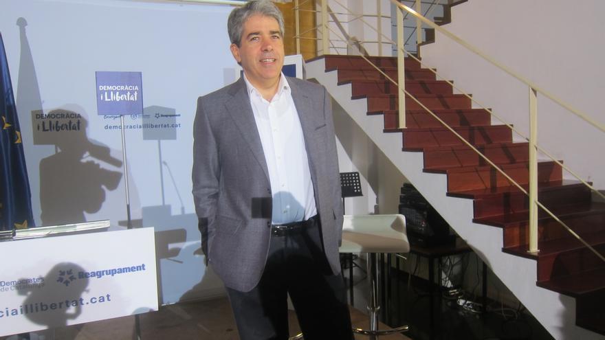 """Homs recrimina a Rajoy que mantenga el régimen de Navarra pero """"discrimine"""" a CataluÑa"""
